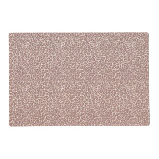 Just Leopard Laminated Place Mat