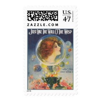 Just Like the Will O'The Wisp Postage
