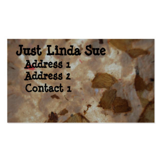 Just Linda Sue Art Double-Sided Standard Business Cards (Pack Of 100)