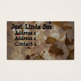 Just Linda Sue Art Business Card