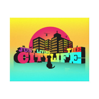 Just Living The City Life Print Art