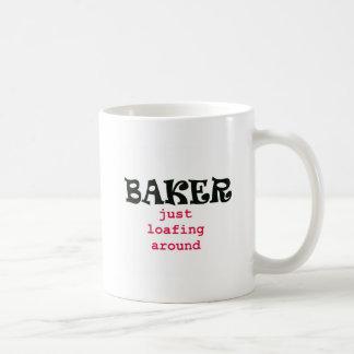 Just Loafing Around Classic White Coffee Mug