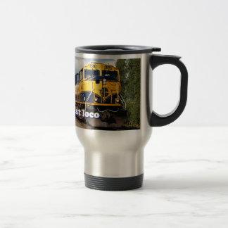 Just loco: Alaska locomotive, USA Mugs