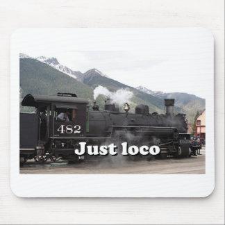 Just loco: steam engine Colorado, USA 2 Mouse Pad
