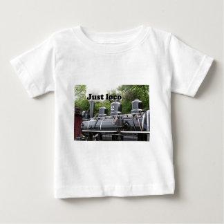 Just loco: steam engine, Wales, United Kingdom Baby T-Shirt