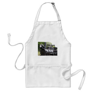 Just loco: steam train Wales, Britain 2 Adult Apron