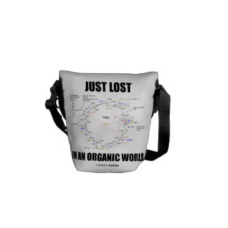 Just Lost In An Organic World (Krebs Cycle) Courier Bag
