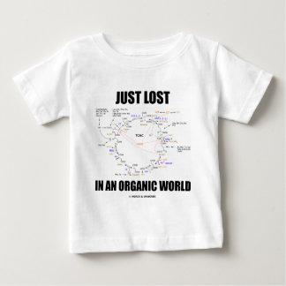 Just Lost In An Organic World (Krebs Cycle Humor) Tees