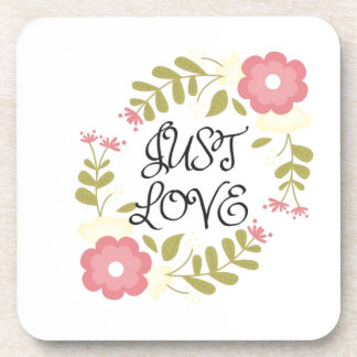 Just Love Floral Coaster