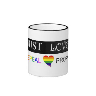 just love/repeal prop 8 mug