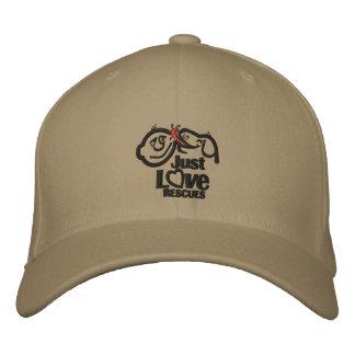 Just Love Rescue Dog Baseball Cap