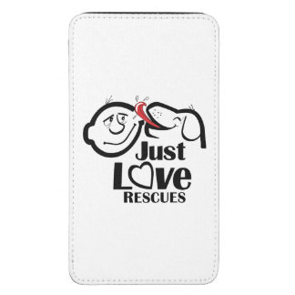 Just Love Rescues Dog Galaxy Phone Pouch Galaxy S5 Pouch