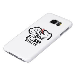 Just Love Rescues Dog Galaxy S6 Case Samsung Galaxy S6 Cases