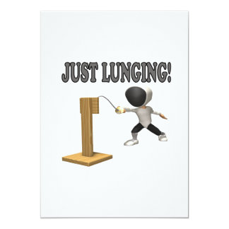Just Lunging Card