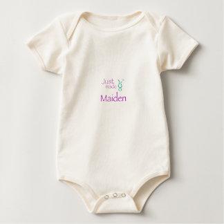 Just Made Maiden Baby Bodysuit
