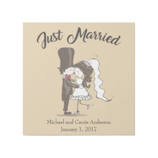 """Just Married 12"""" x 12"""" Gallery Wrap"""