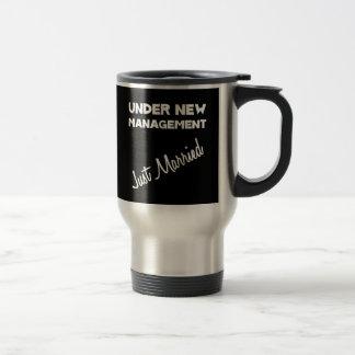 Just Married 15 Oz Stainless Steel Travel Mug