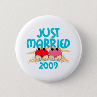 Just Married 2009 Button