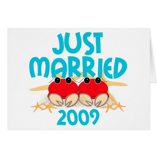 Just Married 2009 Cards