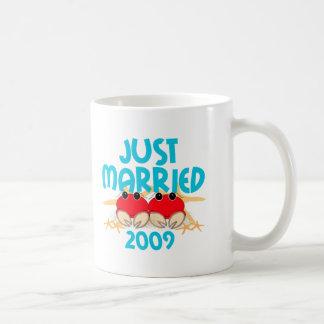 Just Married 2009 Coffee Mug