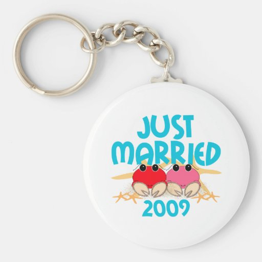 Just Married 2009 Keychain