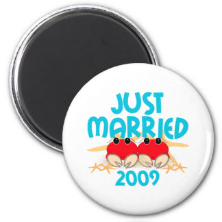Just Married 2009 Magnets