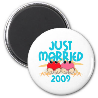 Just Married 2009 Refrigerator Magnets