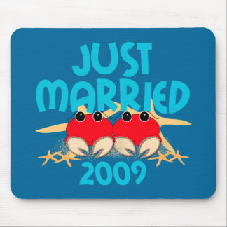 Just Married 2009 Mouse Pad