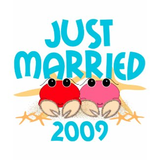 Just Married 2009 shirt