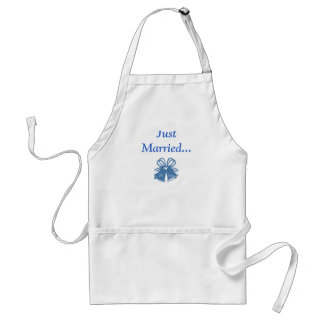 Just Married 25 Yrs. Adult Apron