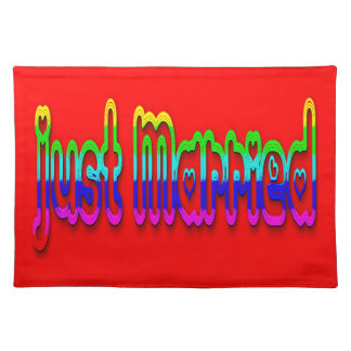 Just Married 2.0 Cloth Placemat