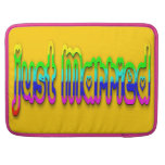 Just Married 2.0 Sleeves For MacBook Pro