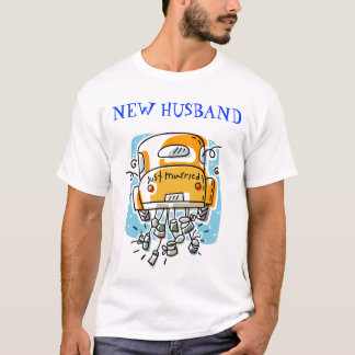 Just Married (2A), NEW HUSBAND T-Shirt