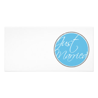 Just Married announcement cards
