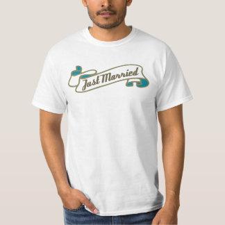 Just Married (Aqua) T-shirt