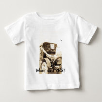 """Just Married"" Baby T-Shirt"