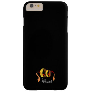 Just Married Barely There iPhone 6 Plus Case