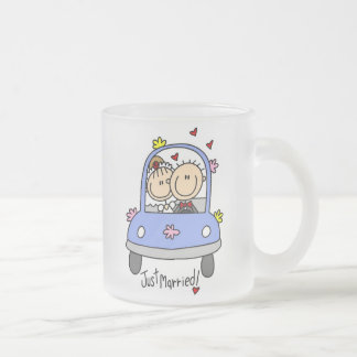 Just Married Bride and Groom T-shirts and Gifts Mugs