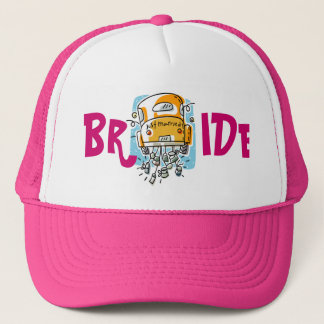 Just Married Bride Hat (2D)