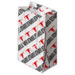 Just Married & Bull by Vimago Small Gift Bag