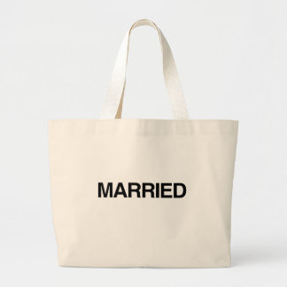 (Just) MARRIED Canvas Bag