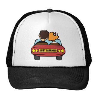 Just married car trucker hat
