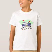 Just Married Car T-Shirt