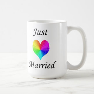 Just Married Coffee Mugs