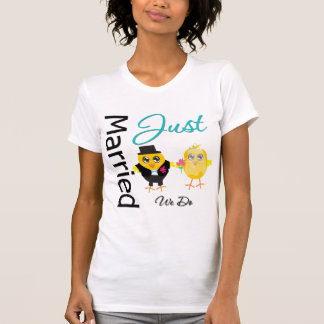 Just Married Couple - We Do T Shirt