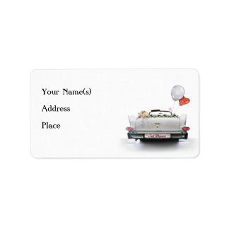 Just Married Custom Address Labels