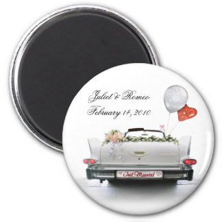 Just Married (customizable) Magnet