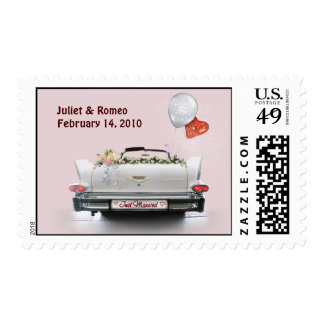 Just Married (customizable) Postage