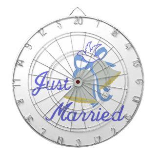 Just Married Dart Board