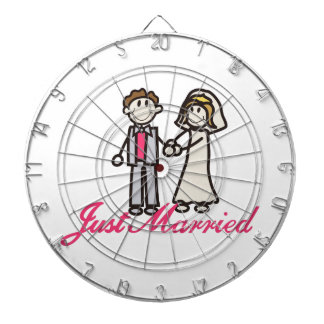 Just Married Dartboards
